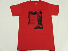 NEW Mens Fourstar Clothing T-Shirt Death Graphic Tee Red Urban Print Size S M512