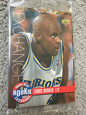 1993-94 UD NBA Draft Rookie Exchange SILVER Set 10 Basketball Cards Factory Seal