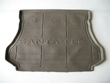 01 02 03 04 05 06 HYUNDAI SANTA FE REAR TRUNK BEIGE CARGO COVER FLOOR MAT TRAY
