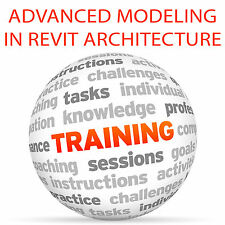 Modelado avanzadas en Revit Architecture-Video Tutorial DVD de entrenamiento