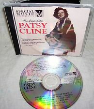 THE LEGENDARY PATSY CLINE--12 SONG CD--L@@K