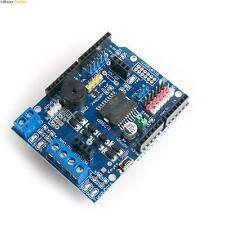 Arduino Stepper Motor Shield - Drive 2 DC Motors + Servos + Bluetooth Interface