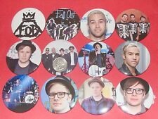 "Fall Out Boy Patrick Stump New Set Of  12 Large  2 1/4"" Buttons Pins"