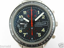 G0059 Authentic Omega Speedmaster Automatic Chronograph Date Mark 40 Rare Find