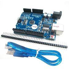 UNO R3 ATmega328P CH340G USB Development Board Compatible Arduino UNO R3 + Cable