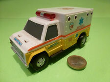 PLASTIC AMERICAN FORD TRUCK - AMBULANCE EMERGENCY MEDICAL SERVICES - 1:43 - VG