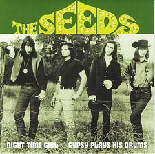 "THE SEEDS Night Time Girl / Gypsy Plays Drums 7"" sky saxon love sonics nuggets"