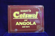 Old Advertising Binny's Cotswol Porcelain Enamel Signboard PJ-41 COLLECTIBLE EDH