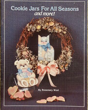 Cookie Jars For All Seasons and more By Rosemary West Tole Painting Book Holiday