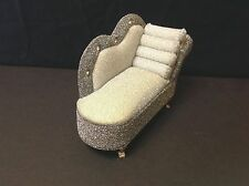 Barbie Doll Dollhouse Furniture Sparkling Diamond Lounge Chair(Monster High/etc