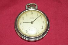 Old Westclox Pocket Ben Watch Vintage for Parts Repair Pocketwatch Open Face