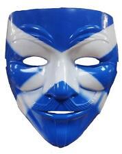 Drapeau Écosse Saltire indépendant Vendetta millions mars Masque Anonyme