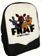 Cinco noches en Freddys Back Pack Mochila fnaf Gang Ideal Para Escuela (BMS)