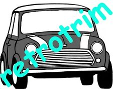 Mk1 Mini Standard & De-luxe A3 Wiring Diagram upto 1964 Dynamo Models Only