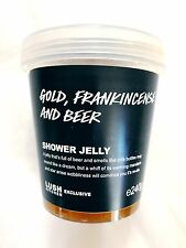 Lush Cosmetics UK Kitchen Exclusive - GOLD FRANKINCENSE AND BEER Shower Jelly