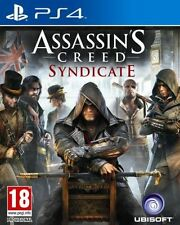 BRAND NEW SEALED ASSASSIN'S CREED SYNDICATE PS4 PLAYSTATION 4 GAME + BONUS DLC