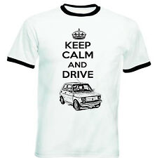 MALUCH POLISH FIAT 126 P KEEP CALM P - NEW COTTON TSHIRT - ALL SIZES IN STOCK