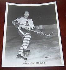 Cleveland Barons John Vanderburg 1960's  from the Woody Ryan Collection