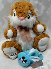 DanDee Collectors Choice Large Bunny & Blue Bunny Homerbest Boing Noise Talks Ha