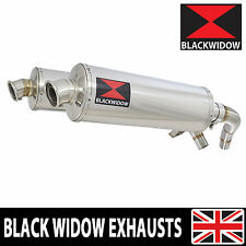 ST1100 ST 1100 Pan European Exhaust Stainless Silencers Mufflers Oval 400SSx2