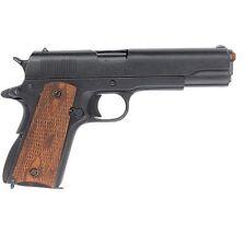 Denix Replica M1911 Government 45 Automatic Pistol - Checkered Wood Grips