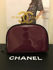 Burgundy Chanel Cosmetic Bag VIP Gift