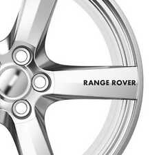 6x Range Rover Alloy Wheels Decals Stickers Adhesives Premium Quality Car
