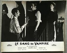 Photo Originale SANG DU VAMPIRE Blood Of the Vampire DONALD WOLFIT Henry Cass B*