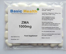 ZMA 90 x 1000mg Vegetarian Growth Testosterone Booster Rugby Muscle Hench Gear