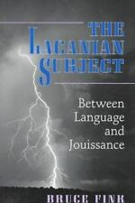 The Lacanian Subject, Fink, Bruce, Acceptable Book