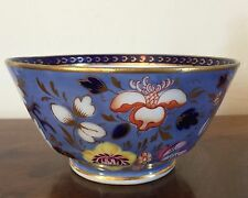 19th c. English Regency Porcelain Bowl Spode Derby Worcester George III 1820