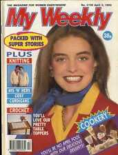 MY WEEKLY MAGAZINE 3/4/1993 CROCHET TABLE TOPPERS, CRAFT FLOWER ARRANGEMENTS
