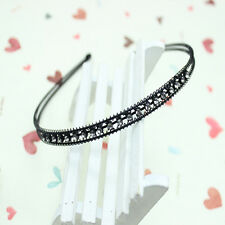 Women Fashion Metal Crystal Rhinestone Head Jewelry Headband Headpiece Hair Band