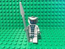 Lego Ninjago Minifigure Rattla Snake Blue Gray 9441 9456 9579 With Spear