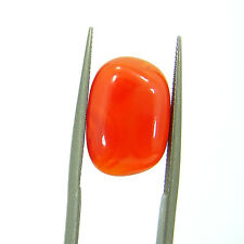 5.10 Ct Beautiful Natural Cabochon Orange Carnelian Gemstone Stone - 8566