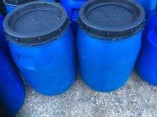 Mouse Vermine proof 60 Litre Plastic Tub/Barrel Chicken/Pet Food Storage Drum