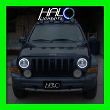 2002-2007 ORACLE LIGHTING Jeep Liberty White Plasma Headlight Halo Ring Kit