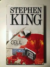 Libro stephen king CELL  copertina rigida lingua italiana 1°EDIZIONE