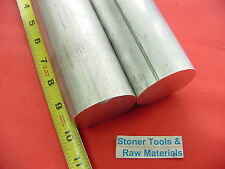 "2 Pieces 2-3/8"" ALUMINUM ROUND ROD 10"" long 6061 T6 Solid 2.37Diameter Bar Stock"