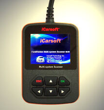 iCarsoft Tiefen Diagnose OBD Scanner ABS, Airbag,Motor. Passend für Ford Focus