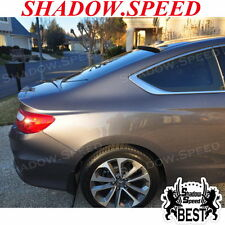 PAINTED B Type Rear Roof Spoiler Wing For HONDA ACCORD LX EX-L COUPE 2013~15 ✪