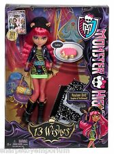 Monster HIGH 13 souhaits poupée howleen wolf