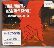 (BX807) Tom Jones & Heather Small, You Need Love Like I Do - DJ CD