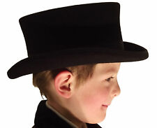 Campbell Cooper Brand New Best Quality Childs Kids Top Hat Black One size