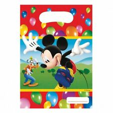 6 Disney Mickey Mouse Balloons Clubhouse Birthday Party Loot Favor Treat Bags