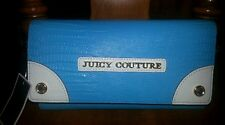 NWT Juicy Couture Blue Continental Flap Wallet $118.00 - AUTHENTIC!