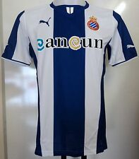 ESPANYOL RCD BOYS 2013/14 HOME SHIRT BY PUMA SIZE 14/15 YEARS  NEW WITH TAGS