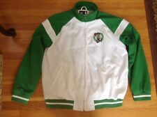 Boston Celtic.  Embroidered. G-Sports Jacket. Mens Large. Pre-Owned