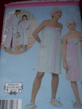 SIMPLICITY #4493- MOTHER & DAUGHTER FANTASTIC SPA ACCESSORIES PATTERN  XS-MED uc