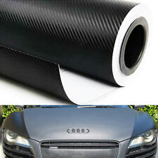 "Carbon Fiber Vinyl Wrap Sticker Air Release Bubble Free 5FT x10FT 120"" x 60"" 3D"